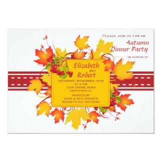 Fall Stitches Invitation