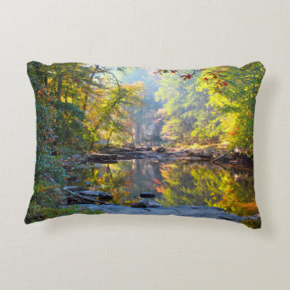 Fall Stream Accent Pillow