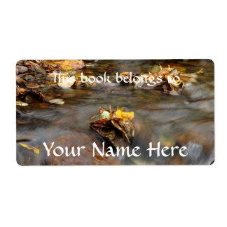Fall Stream Label