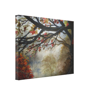 Fall Stretched Canvas Print