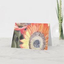 Fall Sunflower Card