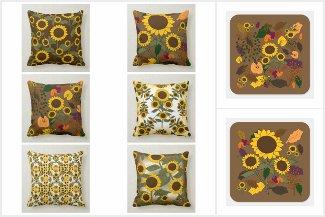 Fall Sunflower Seasonal Collection