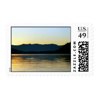 Fall Sunrise on Donner Lake, CA - Customized Postage