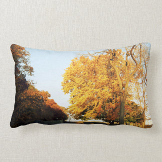 Fall Sunset Grade A Cotton Throw Pillow Lumbar