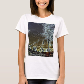 Fall Sunset-HDR T-Shirt