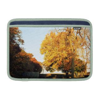 Fall Sunset Macbook Air Sleeve