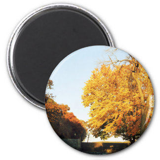 Fall Sunset Magnet