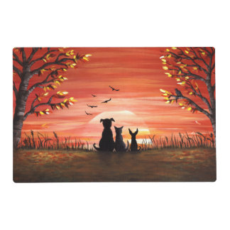 Fall Sunset Placemat