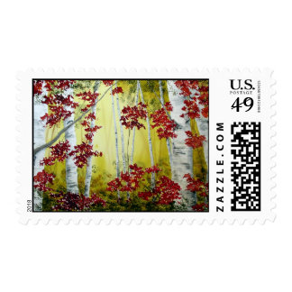 Fall Symphony Stamp