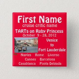 FALL TA 2012 RUBY NAME TAG BUTTON