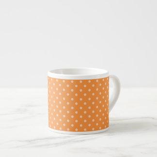 Fall Tango Dots orange Espresso Mug