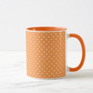 Fall Tango Dots orange Mug