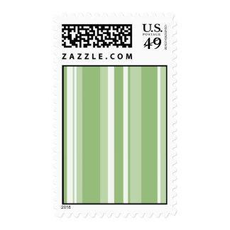 Fall Tango Stripes green Stamp