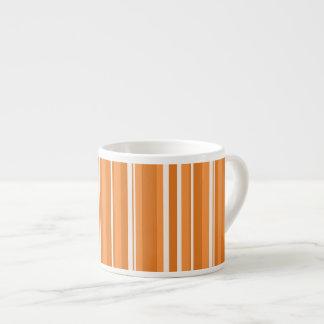 Fall Tango Stripes orange Espresso Mug