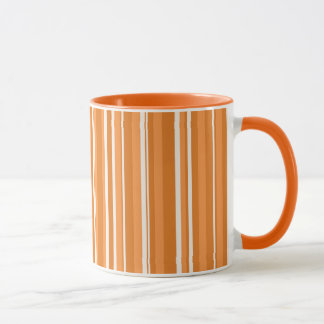 Fall Tango Stripes orange Mug