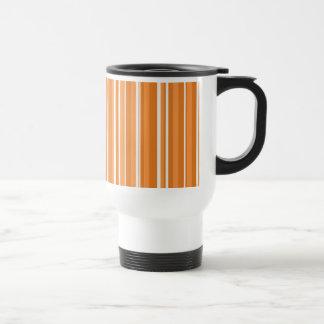Fall Tango Stripes orange Travel Mug
