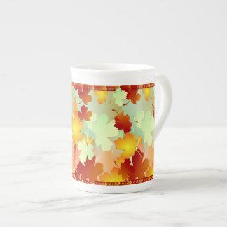 FALL TEA CUP
