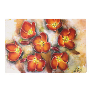 Fall/ Thanksgiving Flower Placemats