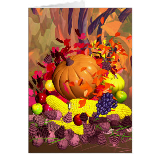 Fall Thanksgiving Harvest Cards