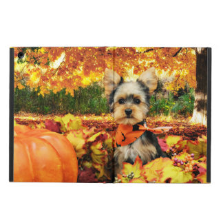 Fall Thanksgiving - Max - Yorkie Cover For iPad Air