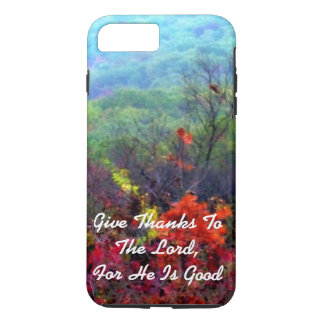 Fall Thanksgiving Photograph The Lord Is Good iPhone 8 Plus/7 Plus Case