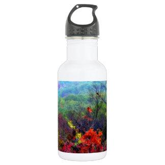 Fall Thanksgiving Photograph Water Bottle