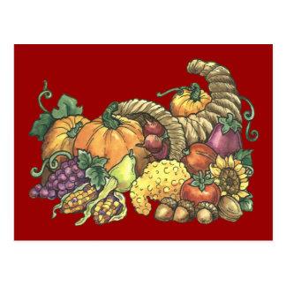 Fall / Thanksgiving Postcard Invitation