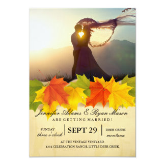 /fall theme card
