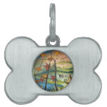 Fall time at the village pet ID tags