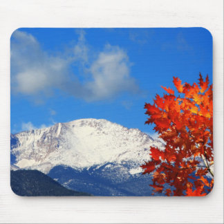 Fall Time in the Colorful Rocky Mountains Mouse Pad