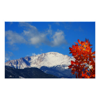 Fall Time in the Colorful Rocky Mountains Poster