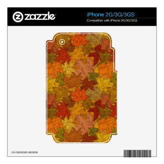 Fall Token Decal For iPhone 3