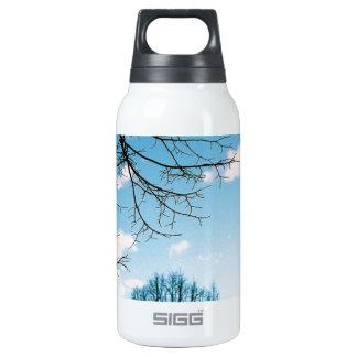 Fall Tree Skyline Insulated Water Bottle