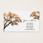 Fall Trees Business Cards at Zazzle