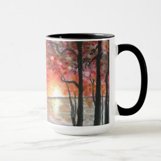 Fall Trees Large 15 oz. Coffee Mug