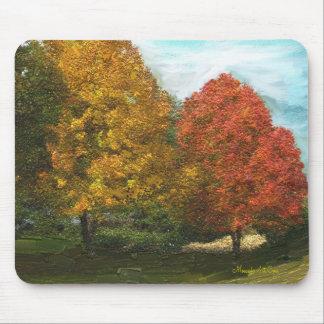 Fall Trees Mousepad