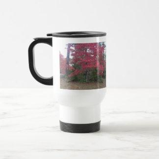 Fall Trees 15 Oz Stainless Steel Travel Mug