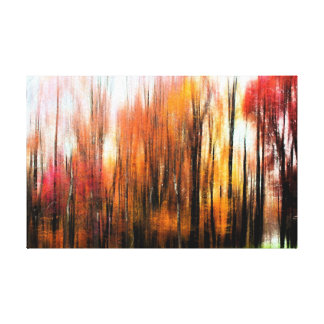 Fall Trees of Bucks County Gallery Wrap Canvas