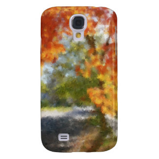 Fall Trees Oil Painting iPhone 3 Case