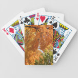 Fall Trees Playing Cards