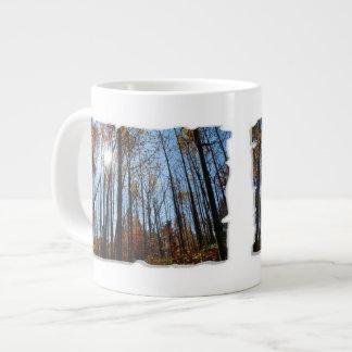 Fall Trees 20 Oz Large Ceramic Coffee Mug