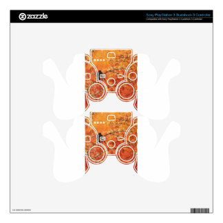 FALL TREES TRIPTYCH (MIDDLE PANEL) PS3 CONTROLLER DECALS