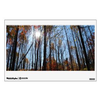 Fall Trees Wall Sticker