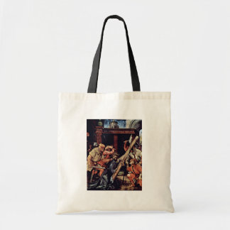 Fall Under The Cross Of Christ By Grünewald Mathis Tote Bags