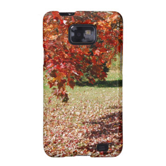 Fall Under The Maple Tree Samsung Galaxy S2 Cases