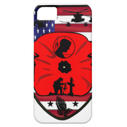 fall US of heroes patch iPhone SE/5/5s Case