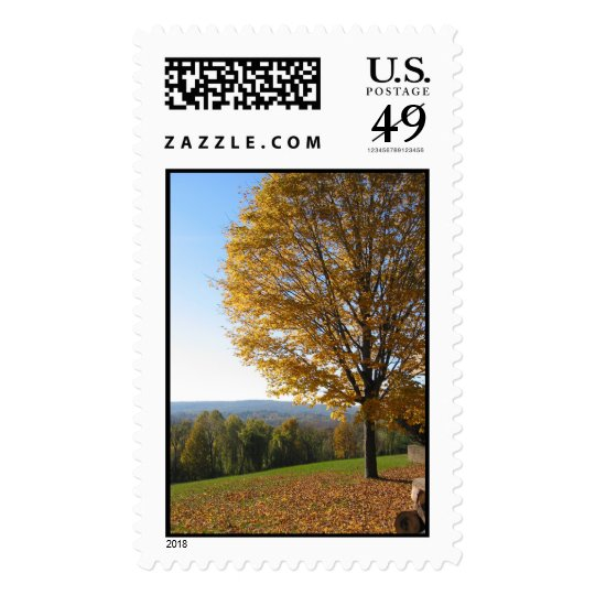 Fall view Connecticut Postage