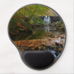 Fall Waterfall and Creek Pennsylvania Nature Photo Gel Mouse Pad