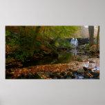 Fall Waterfall and Creek Print