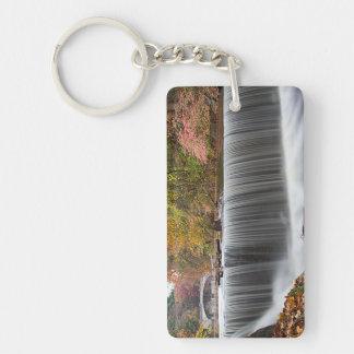 Fall Waterfall at Vanderbuilt Keychain